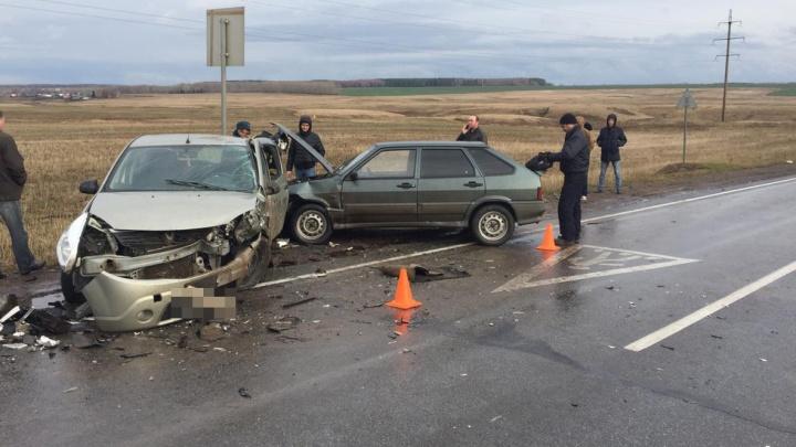 Подробности массовой аварии в Башкирии: ДТП спровоцировал 18-летний водитель
