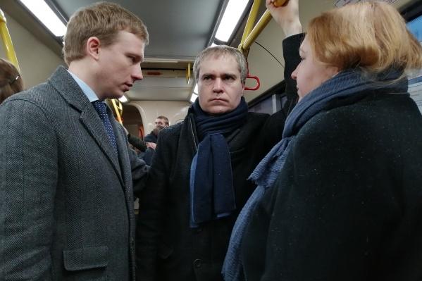 Владимир Панов осваивает автобусы