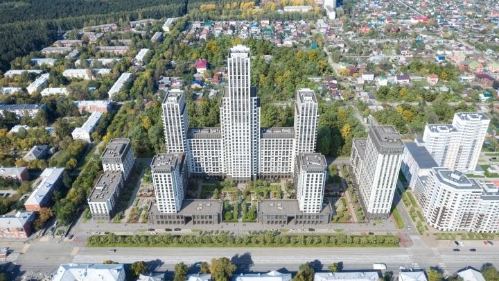Дом у парка: на Уралмаше построят квартал в стиле московских высоток 50-х годов
