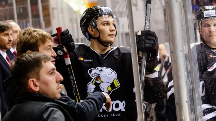 «Мы будем очень скучать»: нападающий челябинского «Трактора» Артём Пеньковский покинул команду
