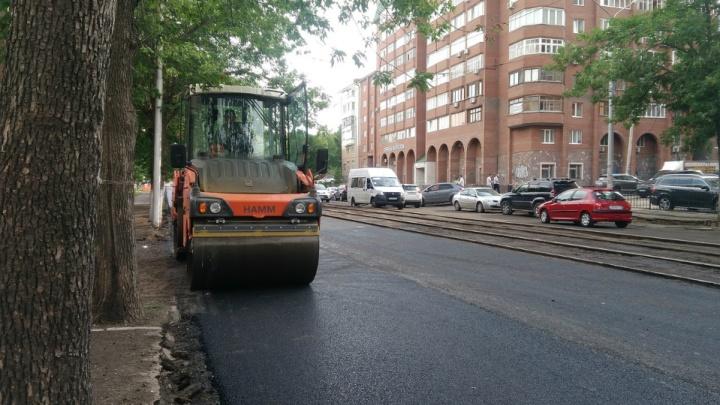 В Уфе приостановили движение трамваев в сторону железнодорожного вокзала