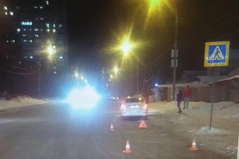 Иномарка сбила мальчика на пешеходном переходе