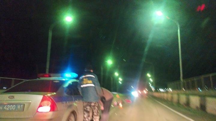 В Ростовской области на трассе сбили 25-летнего мотоциклиста