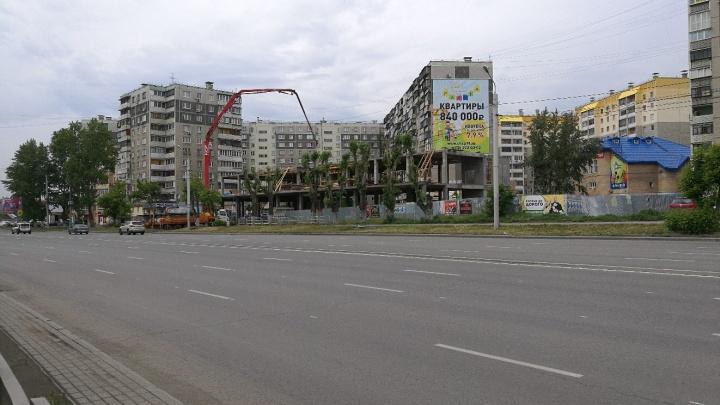 Разрешение мэрии на строительство административного здания на Братьев Кашириных признали незаконным