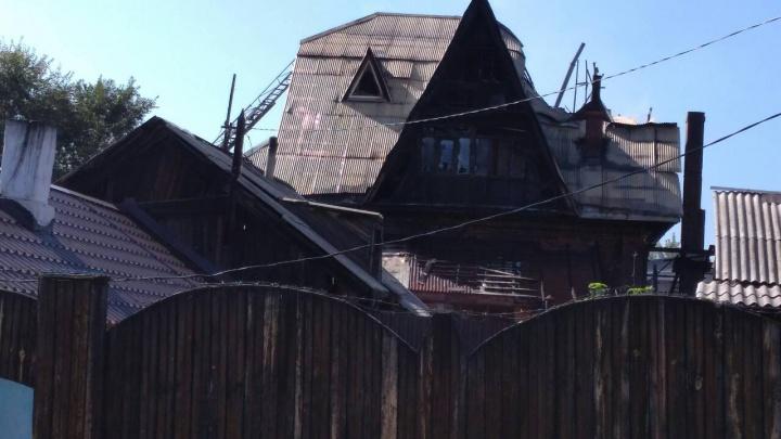 При пожаре в доме престарелых погибли три человека