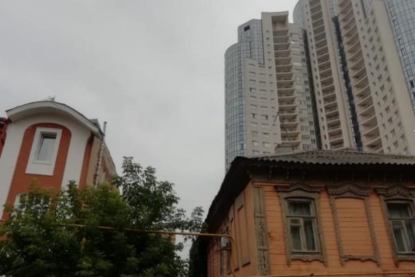В центре города хотят сохранить старые дома, а не строить многоэтажки