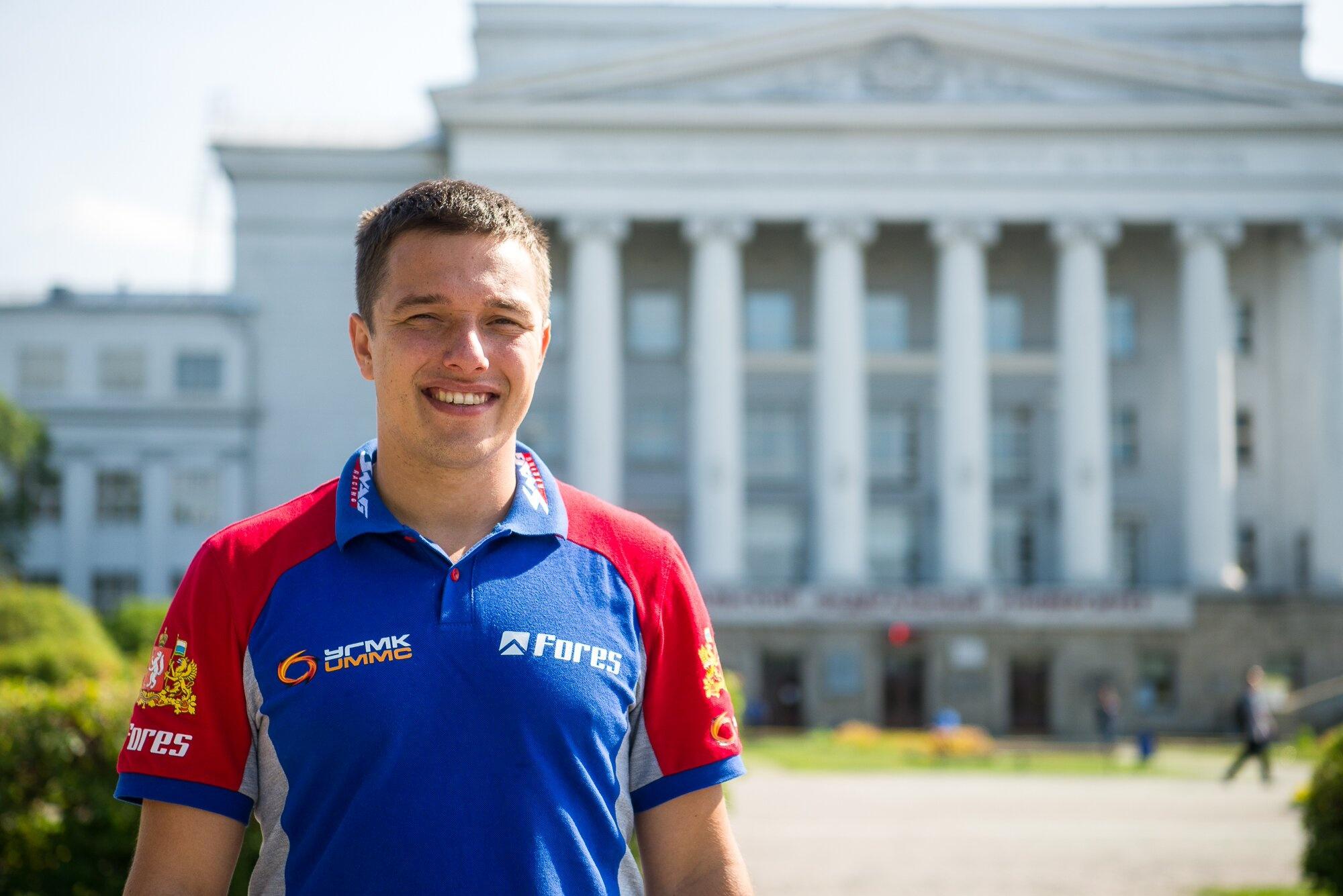 Во время учебы в УПИ Карякин успел пройти практику на заводе гражданской авиации и «пощупать» двигатели