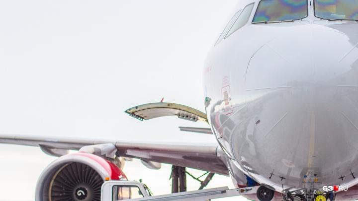 Самару и Омск связали прямым авиасообщением
