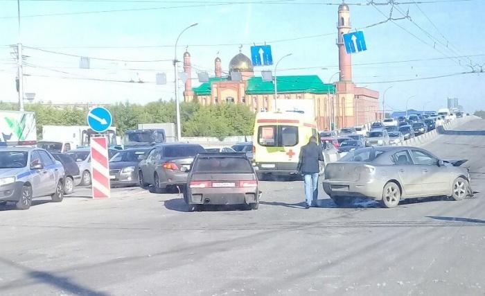 ДТП произошло около мечети
