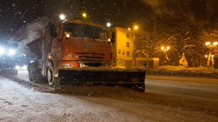 На Башкирию надвигаются снегопады и метель