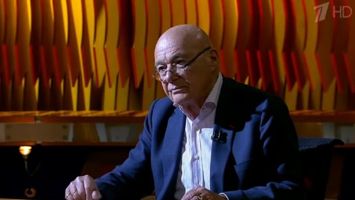 «Власть ничего не поняла»: Владимир Познер назвал уход Курентзиса из Перми невосполнимой потерей