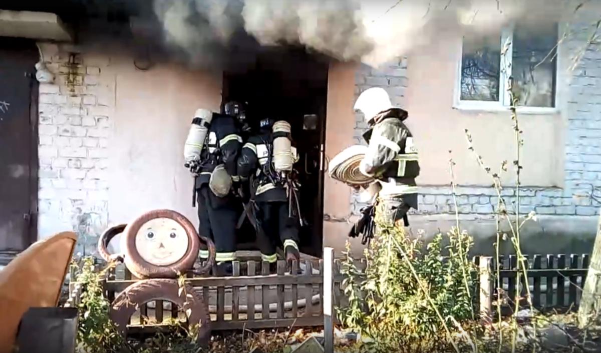 О пожаре долго не сообщали в МЧС