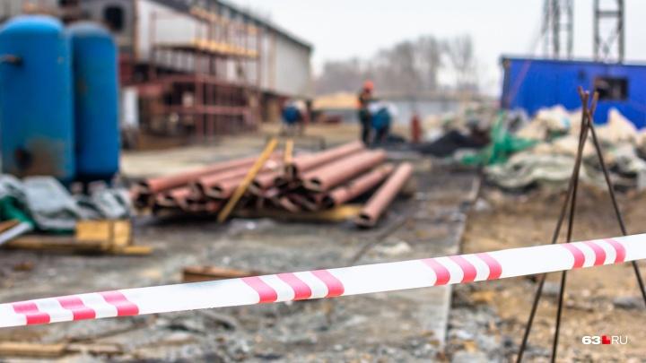 В Самарской области выяснили причину смерти каменщика на стройке