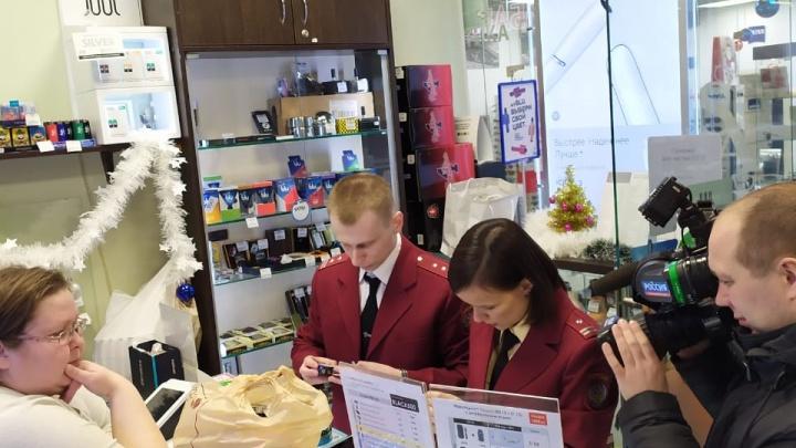 Санитарные врачи начали изымать снюсы из магазинов Екатеринбурга