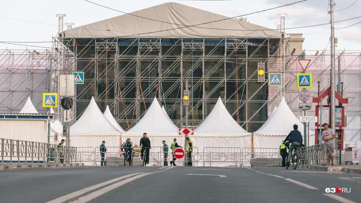 В Самаре 6 и 7 ноября из-за парада Памяти перекроют улицы