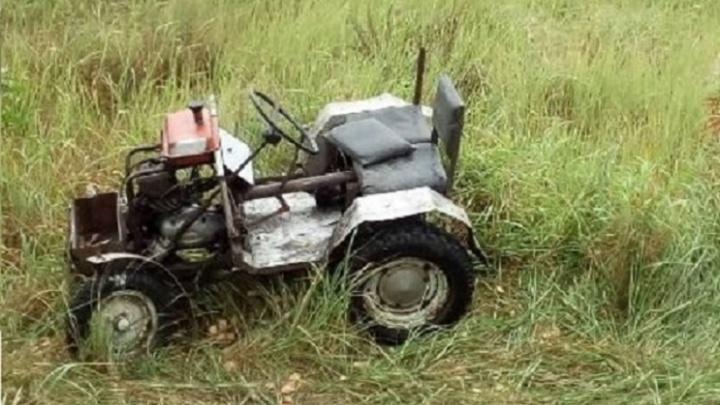 15-летний мальчик умер, катаясь на самодельной тачке в Мишкинском районе
