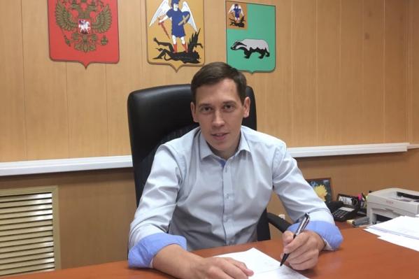 32-летний Виктор Парфёнов занимал должность главы Шенкурского района