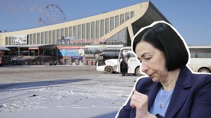 Судьбу челябинского автовокзала у Дворца спорта «Юность» решат в правительстве региона