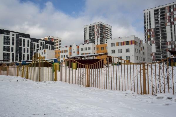 Первый детский сад в микрорайоне построили по плану в 2014 году