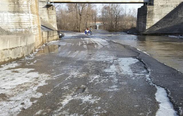 Последствия потопа под Уфой ликвидировали