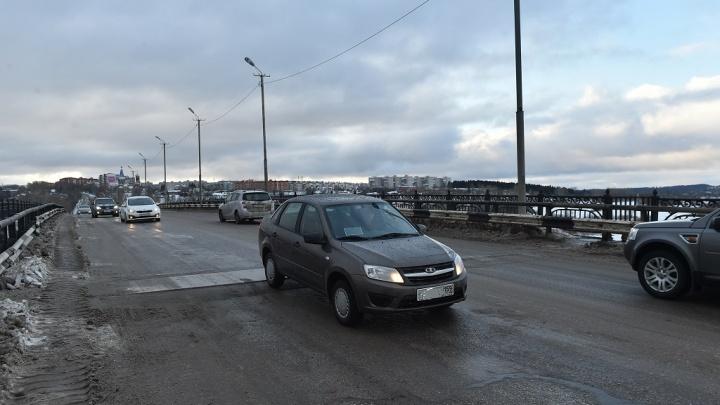 Аварийный мост в Чусовом отремонтируют за 34 миллиона рублей
