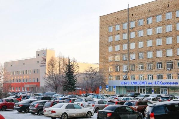 Стационар больницы находится по-прежнему в 9-этажном здании