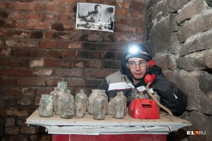 В подвалах Городка чекистов проложили туристический маршрут