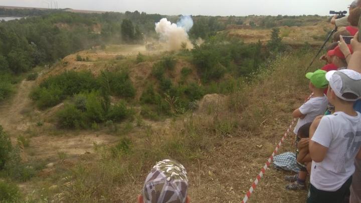 В Ростовской области представили реконструкцию одного из боев афганской войны