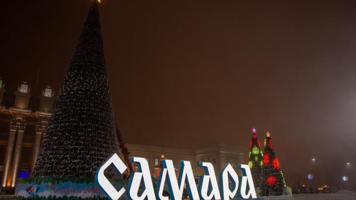 В новогоднюю ночь площадь Куйбышева будут охранять 150 полицейских