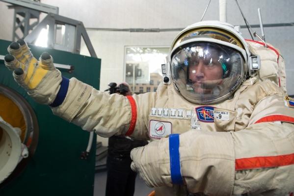 Сергей Прокопьев полетел в компании двух астронавтов