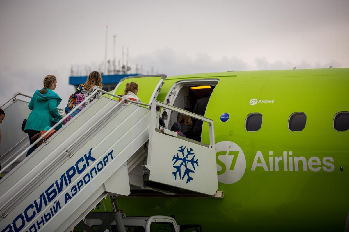 С 3 июня S7 Airlines планирует возить пассажиров из Новосибирска в Томск семь раз в неделю