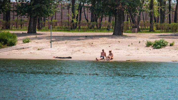 Пляж на левом берегу Дона открыли для купания