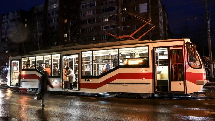 Такси вам в помощь: единственный ночной трамвай в Нижнем Новгороде отменен