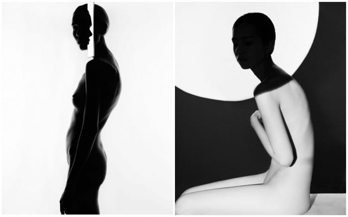 Серия чёрно-белых снимков стала лучшей в номинации «Ню»