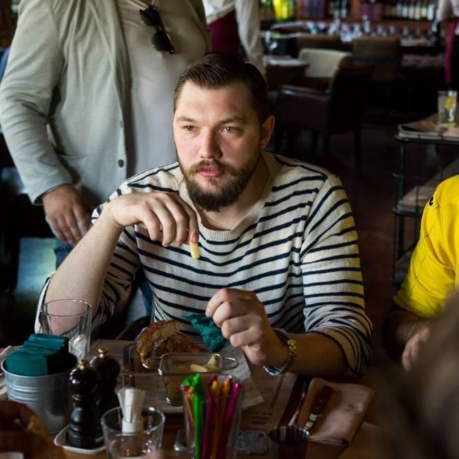 Владелец первого ростовского барбершопа Борис Шеболдин