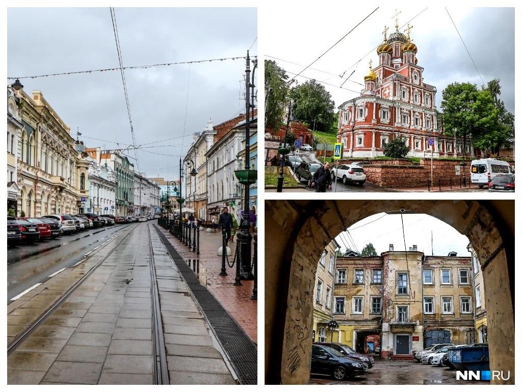 Улицу Рождественскую в Нижнем Новгороде считают купеческой
