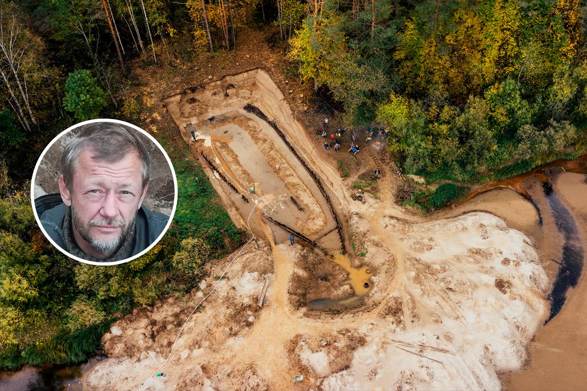 На месте находки велись масштабные раскопки