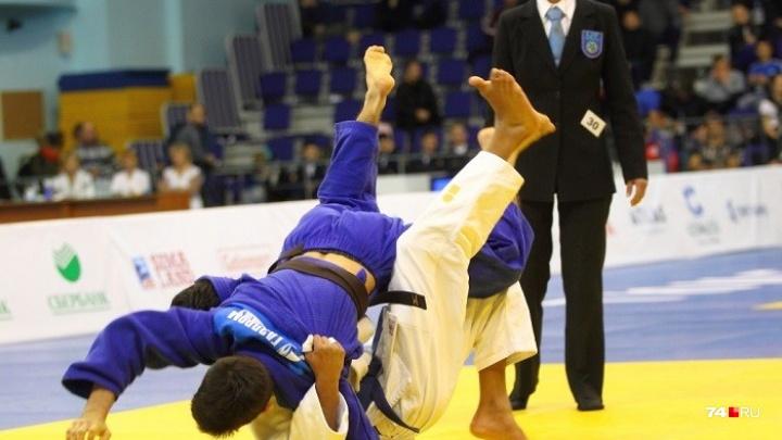 Челябинец выиграл золото первенства России по дзюдо