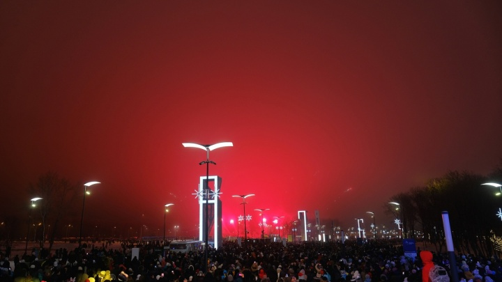 Стало известно, сколько человек встретили новый год около стадиона «Самара Арена»