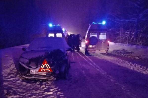 В ДТП пострадали семь человек, из них — двое детей