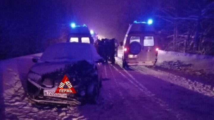 Два ребенка пострадали в массовой аварии в Прикамье