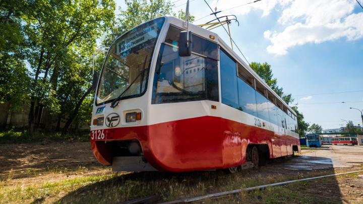 В Новосибирск привезли все собянинские трамваи