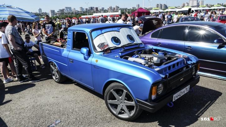 На предельной скорости: Rostov Drive Show — в фоторепортаже 161.RU