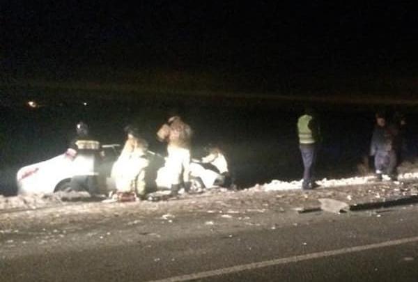 В Башкирии водитель на Hyundai Creta устроил двойное ДТП: один человек погиб и двое в больнице