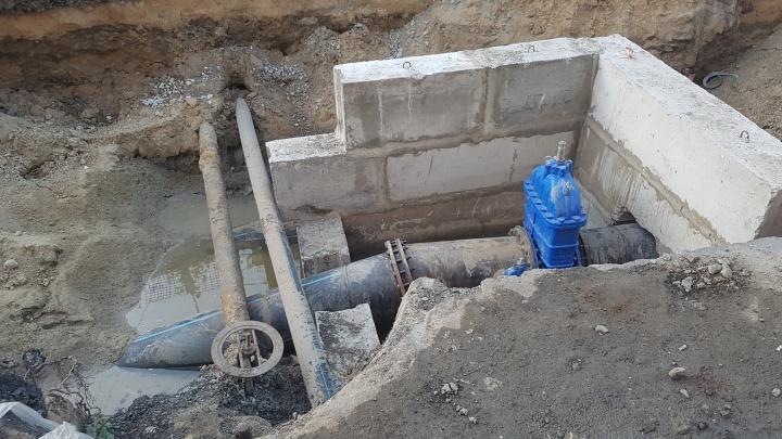 Без воды в Кургане остались 15 многоэтажек, частный сектор, детсад и школа