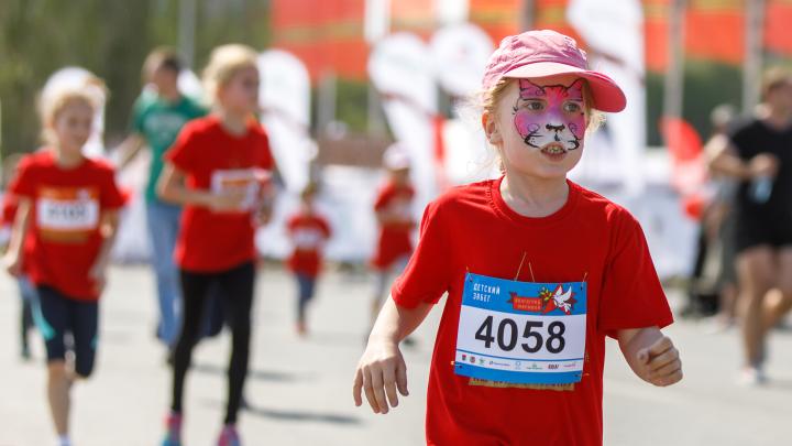 Взяли дистанцию за три минуты: на Нулевой Продольной юные бегуны открыли Волгоградский марафон