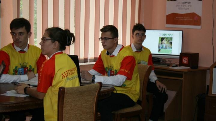 Tele2 подарила компьютерную технику ростовским школьникам