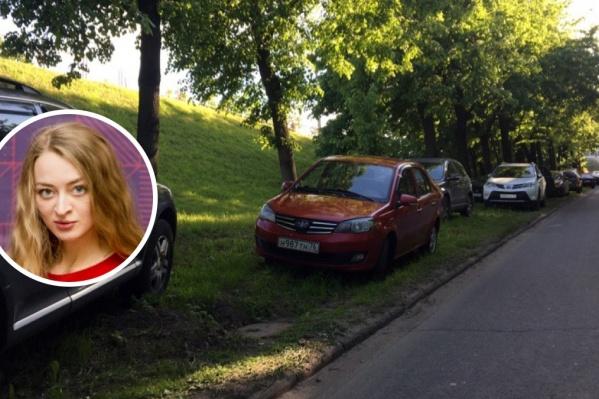 Анна возмущена тем, как паркуются автовладельцы