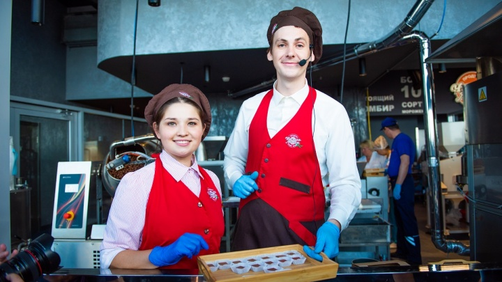 В России открыли самую высокую в мире фабрику шоколада