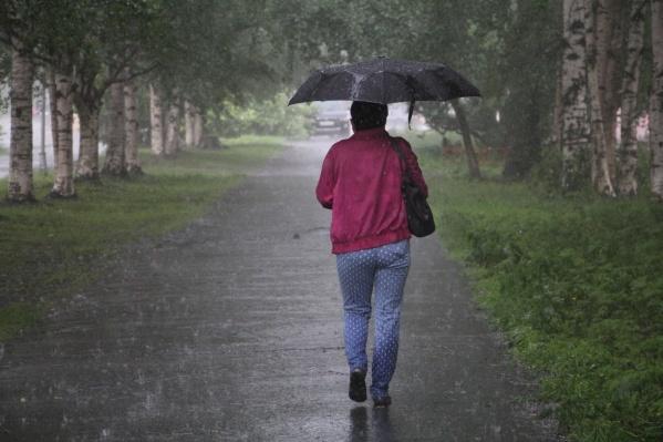 Пока что на горизонте в Архангельске только дожди!